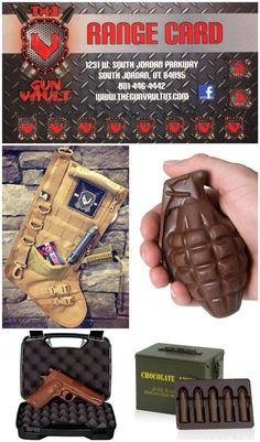 Christmas gifts are here!! Visit The Gun Vault for these unique gifts! Range punch card is on sale now!! $20.00 off! ;)