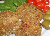 Cantinho Vegetariano: Bife de Lentilha (vegana)