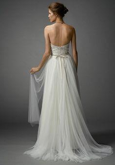 Watters Brides Kian Corset 7063B / Gracia Skirt 7081B A-Line Wedding Dress