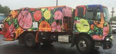 The beauty in trash: Artists transform trucks into mobile masterpieces | Waste Dive