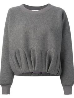 VIKTOR & ROLF gathered effect sweatshirt