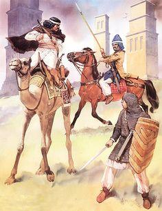Arab-Palmyrene soldier, 3rd C. AD  • Hatrene clibanarius, 2nd C. AD  •…