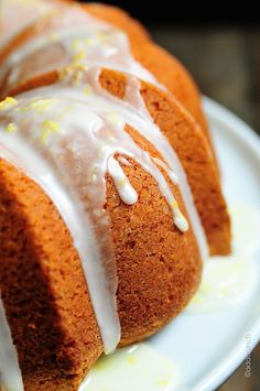 Lemon Pound Cake Recipe - Beautifully delicious favorite pound cake with tasty lemon glaze! addapinch.com