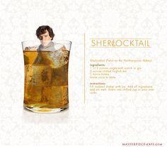 Sherlocktail, Dr. Watson, Moriartini, and Mycraft Brew