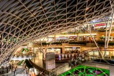 Interior of #Złote #Tarasy (Golden Terraces) One of the most beautiful shopping centers in the world. In #Warsaw, #Poland. #PolskaPiękna