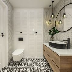 Bathroom Design Luxury, Modern Bathroom, Home Interior Design, Small Bathroom, Wc Design, Toilet Design, House Design, Bad Inspiration, Bathroom Inspiration