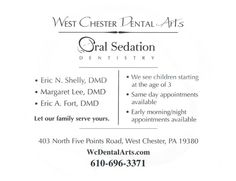 WCDA in The Media!    West Chester dental Arts 403 N. Five Points Road West Chester, PA 19380 (610)696-3371