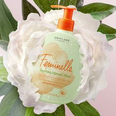New Feminelle Intimate Wash, Lactic Acid, Peony Flower, Natural Cosmetics, Peonies, Soap, Natural Beauty, India, Sweet