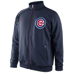 Chicago Cubs Navy Track Jacket by Nike | Sports World Chicago $64.95