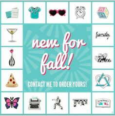 New Fall Origami Owl charms!