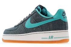 Nike Air Force 1 Low Canvas | Squadron Blue & Turquoise