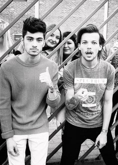 actual models! #louistomlinson #zaynmalik