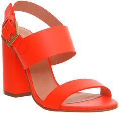 Office Garland Strappy Block Heel