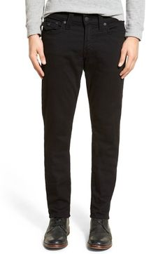 a561517a True Religion Brand Jeans 'Geno - Flap Core' Straight Leg Jeans (Dark  Metal)   Nordstrom