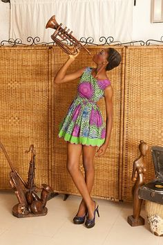 House of Makeda- modeles de pagne africain-African print