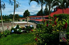 Sunny Day at Doka Estate: the oldest coffee mill. Visit us at Poas Volcano slopes. www.dokaestate.com. Costa Rica.