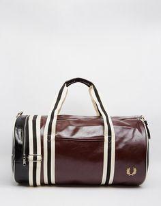 Fred+Perry+Classic+Barrel+Bag
