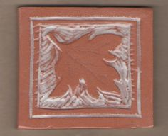 Carved hand rolled tile by Bella Odendaal Hand Roll, Tiles, Carving, Frame, Home Decor, Room Tiles, Picture Frame, Decoration Home, Room Decor