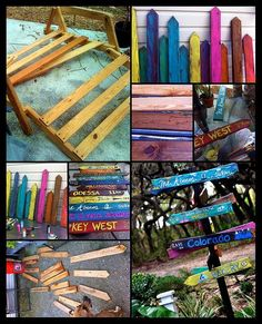 Tropical Directional Sign Project by photo.OP, via Flickr #beachsignstropical
