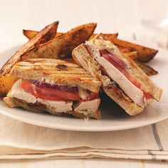 Rotisserie Chicken Panini Recipe -This is an ooey-gooey, melty cheese delight that's packed with bacon, chicken and just enough lemon to make it pop. —Terri McCarty, Oro Grande, California