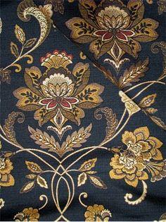 Parliament Ebony - Henredon Fabric