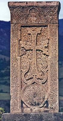 KHACHKARS (խաչքար) - These unique-to-Armenian-culture, handmade CROSS-STONES have been made for centuries. Large or small, intricate or simple, they may be used as a gravestone, or for decorative purposes. Khachkars are found in every corner of Armenia. In 2010, UNESCO inscribed Armenian Cross-stones Art: Symbolism & Craftsmanship of Khachkars on its Representative List of the Intangible Cultural Heritage of Humanity. http://www.unesco.org/culture/ich/RL/00434