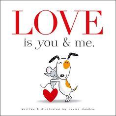 Children's books about love. #valentinesday #love