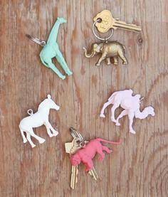 Thanks, I Made It Myself: 7 Stylish DIY Keychains - The Frisky