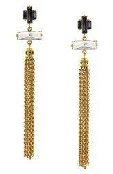 Louise et Cie Tassel Drop Earrings