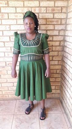 Shweshwe Dresses South Africa Styles For Woman - Pretty 4 Textile Manufacturing, Shweshwe Dresses, Xhosa, Africa Fashion, Powerful Women, Pedi, Woven Fabric, South Africa, Work Wear