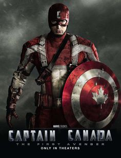 Captain Canada by InternetKnight