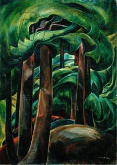Western Forest, c.1931 (oil on canvas)