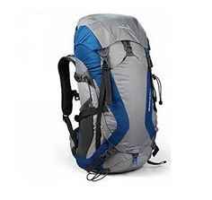 e3889cd037bf Amazon.com   TOFINE Inner Frame Backpack Waterproof Backpacking with Rain  Cover Gear Blue 32 Liter   Sports   Outdoors