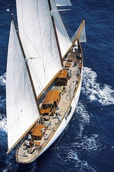 Luxury Yacht Charter Holidays in Mediterranean Sea by Yacht Boutique with professional crew. luxury wine boat tour Italy and France. Boat holiday with wine and bike cruise. Classic Sailing, Classic Yachts, Sailing Cruises, Sailing Ships, Sailing Yachts, Sailing Boat, Catamaran, Sailing Holidays, Cruise Holidays