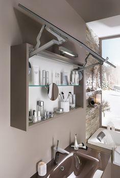 Armoire de Toilette Salle de Bain | Delpha Bathroom Medicine Cabinet, Home Remodeling, House, Powder Room, Toilets, Water, Haus, Home, House Renovations