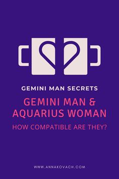 Are you an Aquarius woman trying to woo the heart of a Gemini man? It may be your lucky day! Learn about Gemini man with Aquarius woman love compatibility, how your signs may match, and how you can possibly attract him.