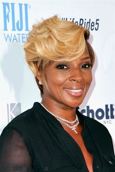 Mary J. Blige attends Kiehl's LifeRide for amfAR at 22 Little West 12th Street in New York on Aug. 12, 2014.