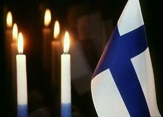 Why I Love (And Hate) Living In Finland - Independence Day Candles♥ Finland Culture, Family Tree For Kids, Finland Flag, 2 Advent, Night Shadow, Christmas Landscape, Greek Beauty, Flags Of The World, Happy Independence Day