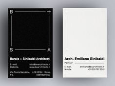 Architecture business cards in Business cards