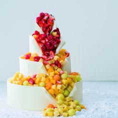 Maison Premiere at Robbin's(メゾン・プルミエール アット ロビンズ)|結婚式場写真「自由自在のウエディングケーキ テーマは【エレガント】」 【みんなのウェディング】
