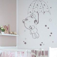 14 coloris au choix Rose Id/éale d/écoration chambre b/éb/é et enfant. Les lutins de Camille- Lot de 6 stickers muraux nuage