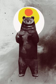 Untitled #bear by Erik M▲nsson