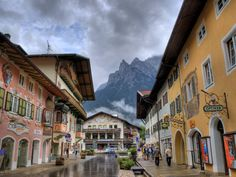 Mittenwald.  Where my fiddle was made!