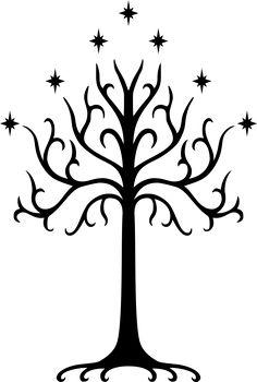 White Tree of Gondor Symbol by DrDraze.deviantart.com on @DeviantArt