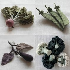 ah-mazing crochet vegetables - worth the visit to the original blog post to see them all