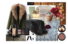 """""""like it"""" by monster241 ❤ liked on Polyvore featuring JVL, Tory Burch, Bajra, Wrap, KAROLINA, Topshop, MAC Cosmetics, NARS Cosmetics, Essie and Burberry"""