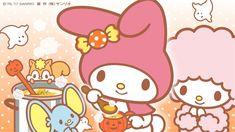 マイメロディーはウサギ形の🐇可愛い大きな耳とヨプンピンク❤が似合うメロディー💕メロディーは、愛ですよ!💕💕、韓国のメロディーちゃんは・・他の色も付き合うが、ピンク色が💐もっときれいで・・可愛い感じだったから凄くいい色💗😊