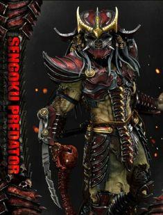 Predator Figure, Live Feed, Xenomorph, Samurai Warrior, Virtual Reality, Aliens, Warriors, Wicked, Sci Fi