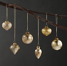 Love these from Restoration Hardware