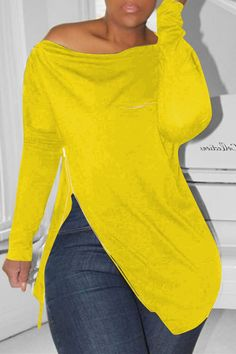 Choose from boohoo's wide selection of women's tops. Shirts, blouses, cami tops and t-shirts, you name it! Have a browse and start shopping now! Yellow Hoodie, Red Hoodie, Casual Outfits, Fashion Outfits, Casual Shirt, Denim Fashion, Fashion Ideas, Girl Fashion, Jumpsuit Dress